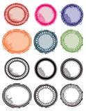 Stamp Set vector illustration