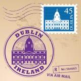 Stamp set Royalty Free Stock Image