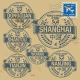 Stamp set Stock Photos