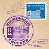 Stamp set Stock Photo