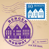 Stamp set Royalty Free Stock Photos