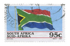 Stamp, South Africa stock photography