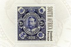 Stamp, South Africa stock photo