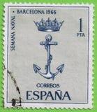 Stamp Spain Stock Photos