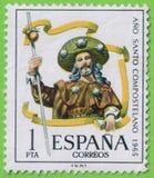 Stamp Spain - Sello España Royalty Free Stock Images
