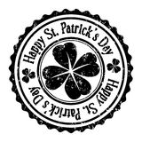 Stamp of St. Patrick's Day, Royalty Free Stock Image