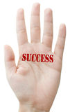 Stamp of success Royalty Free Stock Photo