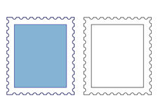 Stamp templates. Isolated stamp templates insert in your creative works stock photography