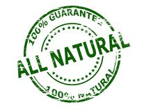 All natural stock illustration