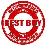 Best buy. Stamp with text best buy insde,  illustration Royalty Free Stock Photography