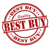 Best buy. Stamp with text best buy inside,  illustration Royalty Free Stock Images