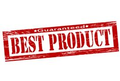 Best product. Stamp with text best product inside,  illustration Stock Images