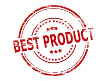 Best product. Stamp with text best product inside, vector illustration Stock Image