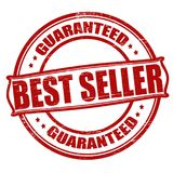 Best seller. Stamp with text best seller inside,  illustration Stock Photos