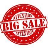 Big sale. Stamp with text big sale inside,  illustration Stock Images
