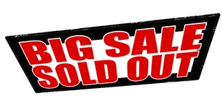 Big sale sold out Royalty Free Stock Photos