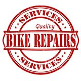 Bike repair. Stamp with text bike repair inside,  illustration Royalty Free Stock Photo