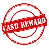 Cash reward. Stamp with text cash reward inside,  illustration Royalty Free Stock Photos