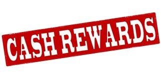 Cash rewards. Stamp with text cash rewards inside,  illustration Royalty Free Stock Photography