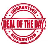 Deal of the day. Stamp with text deal of the day inside, illustration Stock Photo