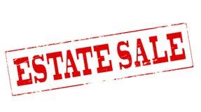 Estate sale. Stamp with text estate sale inside,  illustration Royalty Free Stock Image