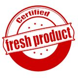 Fresh product. Stamp with text fresh product inside,  illustration Stock Photo