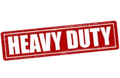 Heavy duty. Stamp with text heavy duty inside,  illustration Royalty Free Stock Photography