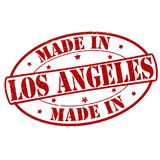 Made in Los Angeles. Stamp with text made in Los Angeles inside,  illustration Royalty Free Stock Image