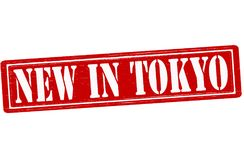 New in Tokio. Stamp with text new in Tokio inside,  illustration Royalty Free Stock Photos