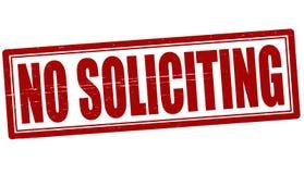No soliciting stock photos