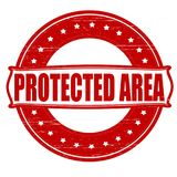 Protected area. Stamp with text protected area inside, ilustration stock illustration