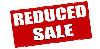 Reduced sale Stock Images