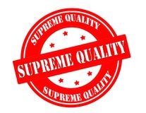 Supreme quality. Stamp with text supreme quality inside, vector illustration Stock Photo