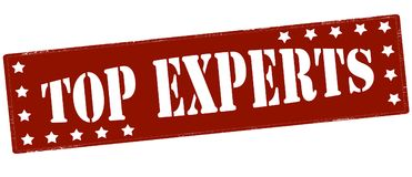 Top experts vector illustration