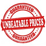 Unbeatable prices Royalty Free Stock Images