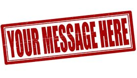 Your message here Stock Images