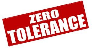 Zero tolerance. Stamp with text zero tolerance inside, illustration royalty free illustration