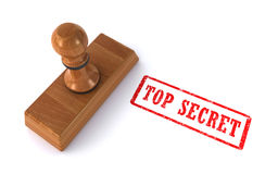 Stamp top secret Royalty Free Stock Images