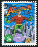 Stamp. UNITED STATES - CIRCA 2006: stamp printed by United states, shows Aquaman, circa 2006 stock image
