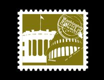 Stamp, Washington DC Royalty Free Stock Photo