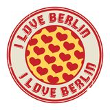 Stamp With Text I Love Berlin Royalty Free Stock Photo