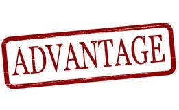 Advantage. Stamp with word advantage inside, illustration vector illustration