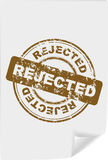 stamp with word REJECTED Royalty Free Stock Images