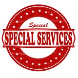 Special. Stamp with word special inside, illustration Stock Photos
