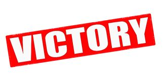 Victory royalty free stock image