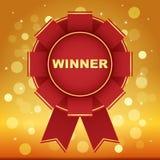 Winner award background vector illustration