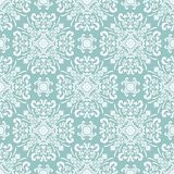 Floral seamless pattern damask baroque vector illustration