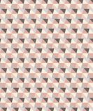 Vector Pink and grey tones geometric seamless triangle pattern vector illustration