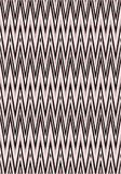 Traditional black and pastel pink large chevron pattern vector illustration