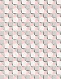 Geometric pink and grey sea star vector seamless pattern vector illustration